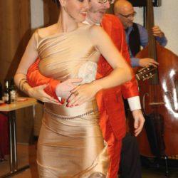 Die bezaubernden Tänzer des Abends: Karin Engeli und Andreas Zahn.